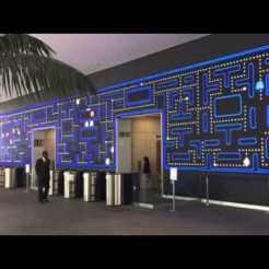 pared led con paisajes - espacio blog