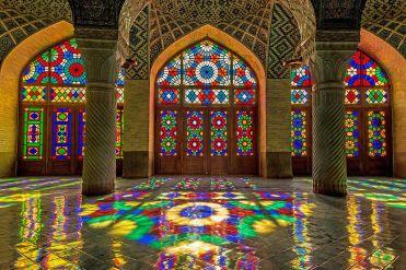 arquitectura religiosa mezquita rosa