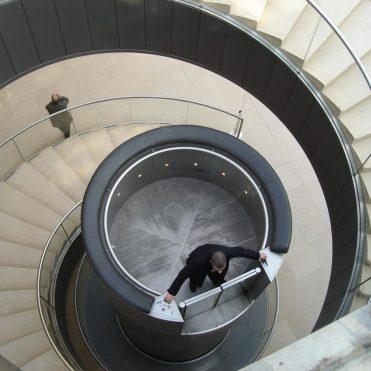 ascensor Louvre