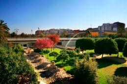 Parque urbano Valencia