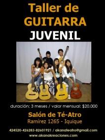 Taller de Guitarra Juvenil - 2011