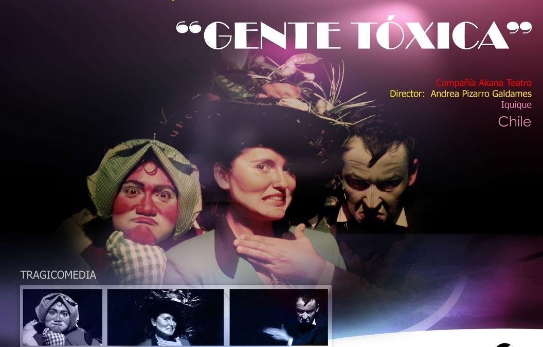 Akana Teatro en FINTDAZ 2011 – Gente Tóxica
