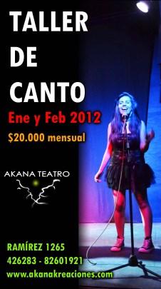 Taller de Canto Verano 2012