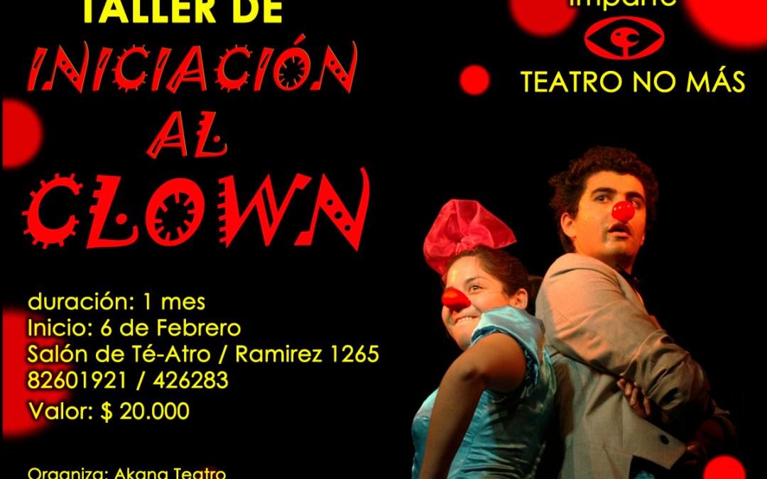 Talleres Febrero 2012 – Iniciación al Clown