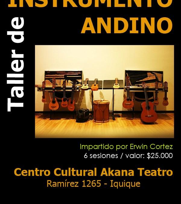 Taller: Instrumento Andino – Iquique Nov/Dic 2012