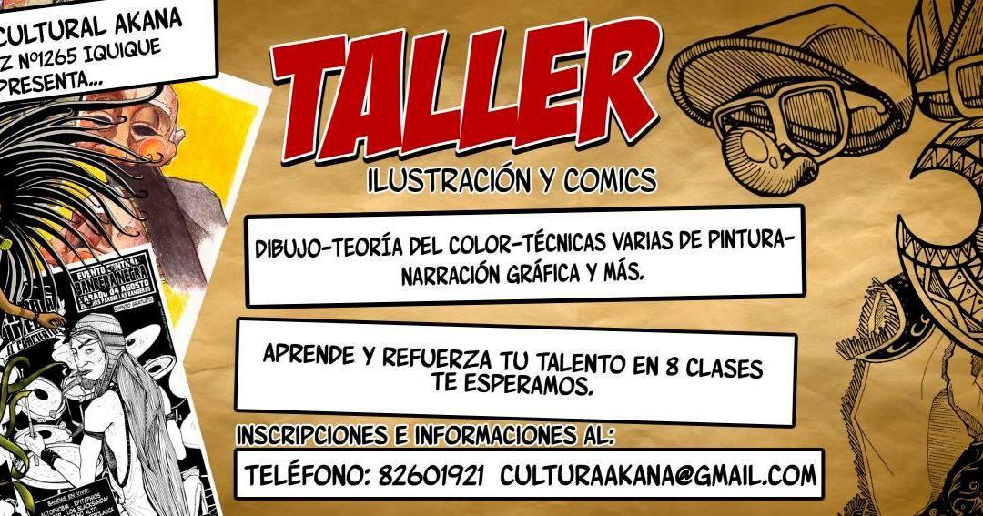 Taller de COMIC E ILUSTRACIÓN – 2014 Iquique