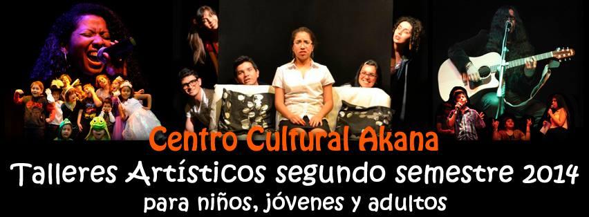 Lanzamiento TALLERES ARTÍSTICOS Segundo Semestre 2014