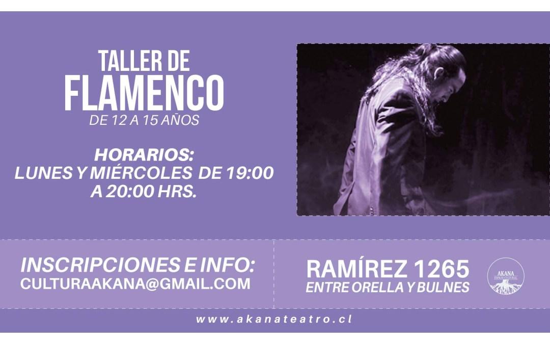 Taller de Flamenco – 2016
