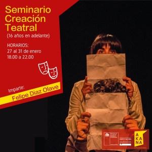Seminario de Creación Teatral