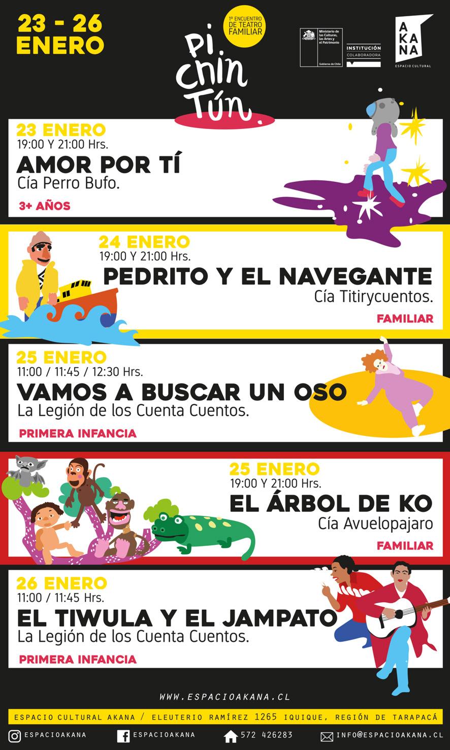 programa Encuentro Pichintún