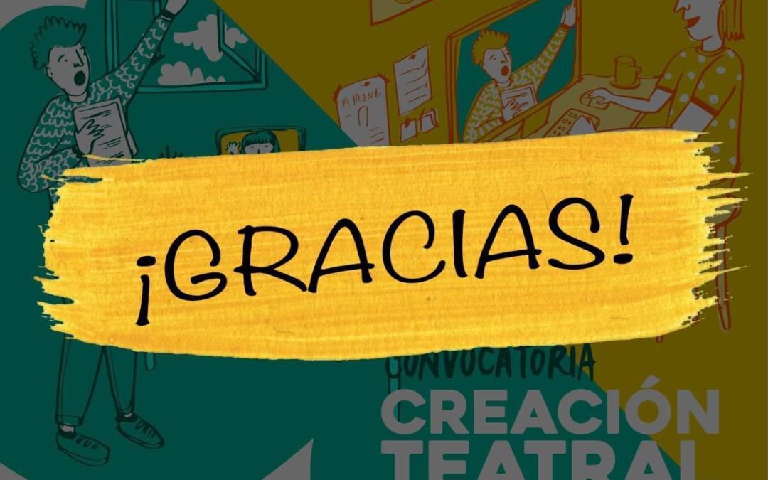 """Convocatoria """"Teatro en Resiliencia 2020"""" concluyó con 16 postulaciones y 8 seleccionados"""