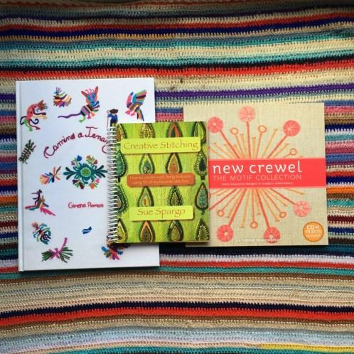 Mis libros de bordado