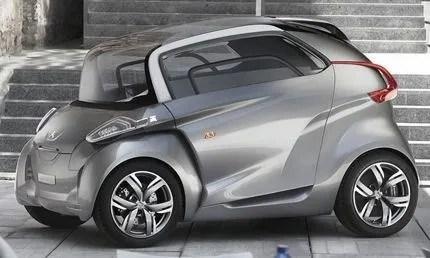 Peugeot present el bb1 concept en frankfurt for Coche huevo