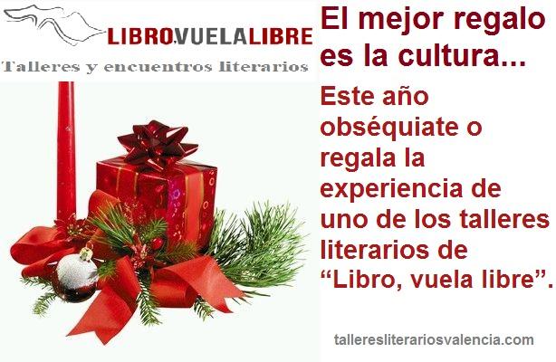 Los talleres literarios de LIBRO VUELA LIBRE recibirán el nuevo año en su sala de escritura creativa de Valencia