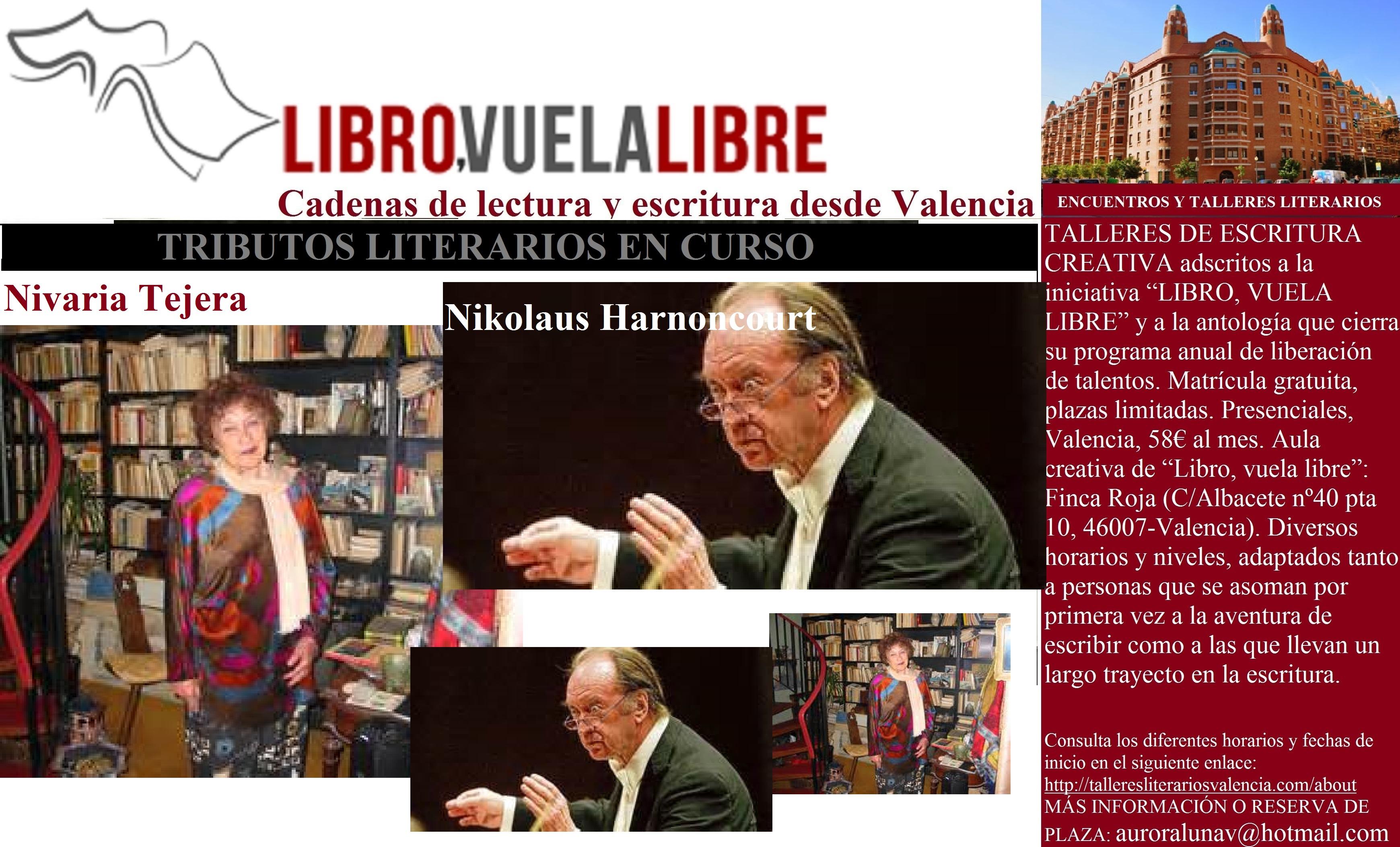 Cursos y talleres de escritura en Valencia. ENCUENTROS LITERARIOS DE LAS CLAVES 77 Y 78
