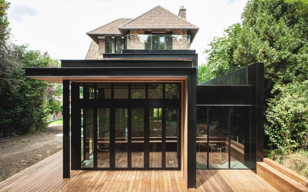 5 detalles de estructuras metálicas y fachadas para proyectos residenciales- parte 4