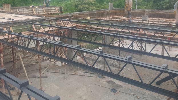 Beneficios Sistema de construcción liviana Viguetas Steel joist