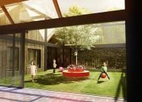 1Kid's City: Propuesta de Jardín Modular / Adam Wiercinski