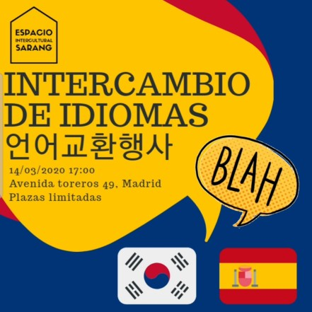 Intercambio de Idiomas en Madrid 1