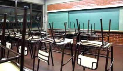 docentes de paro