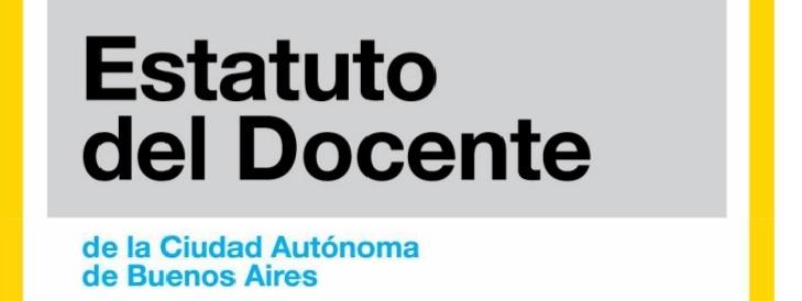 Estatuto Docente de la Ciudad de Buenos Aires