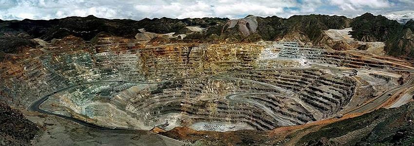 ¿Qué son las minas a cielo abierto?