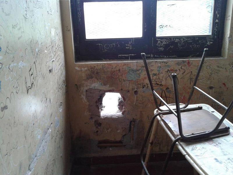 escuelas deterioradas
