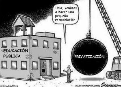 privatizacion de la educación