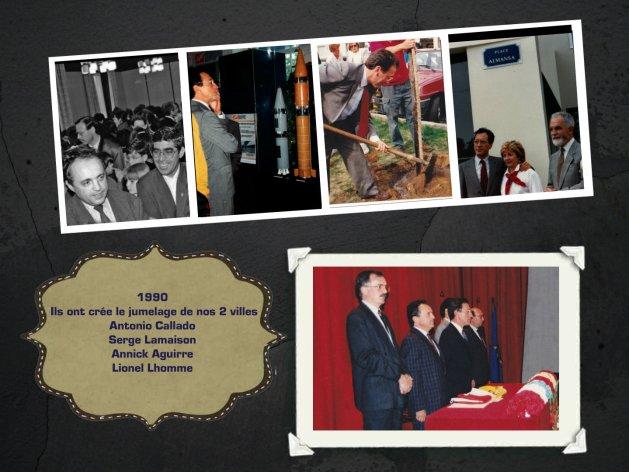 1990 - creation jumelage-collage