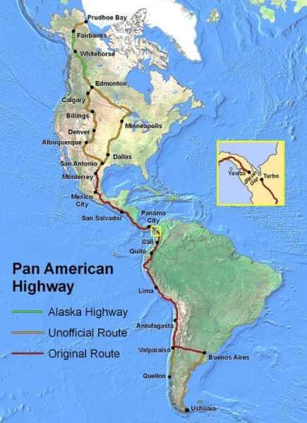 Carte Panamericana