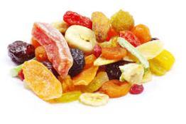 fruta desecada