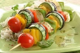 pinchos vegetales