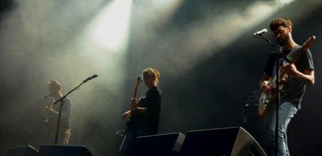 Linda Martini foi a segunda banda a pisar o palco. |FOTO: Daniela Carmo