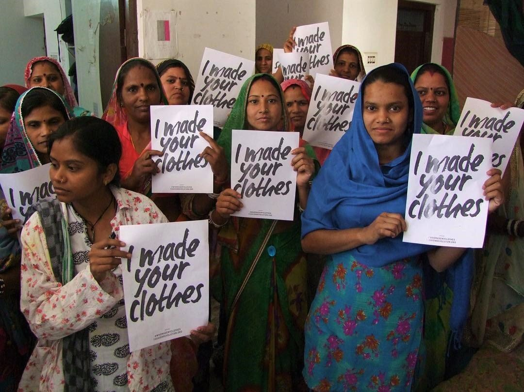 who made my clothes, fashion revolution