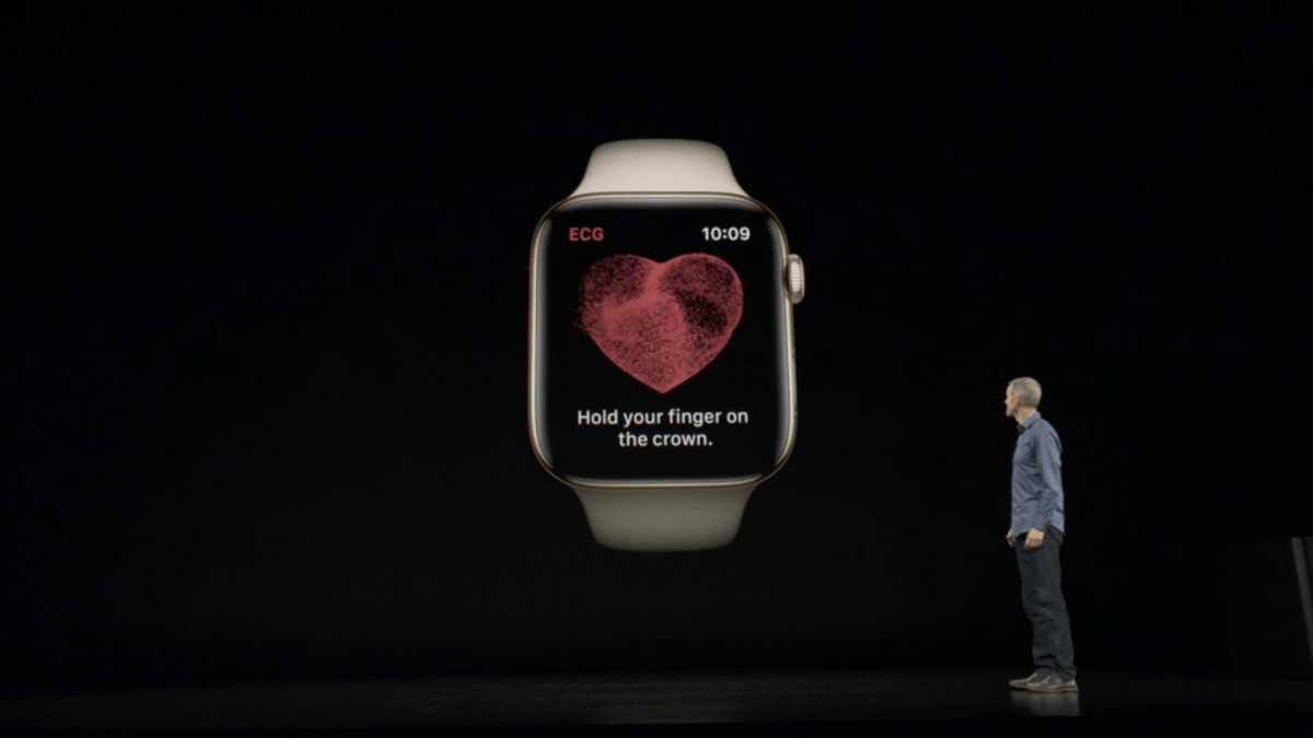 Eletrocardiogramas no Apple Watch Série 4