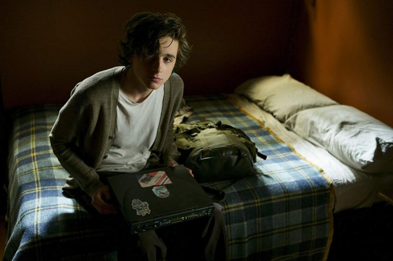 Timothée Chalamet em Beautiful Boy