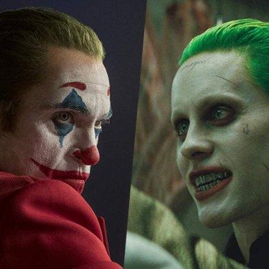 Joker (Joaquim Phoenix) e Joker (Jared Leto)