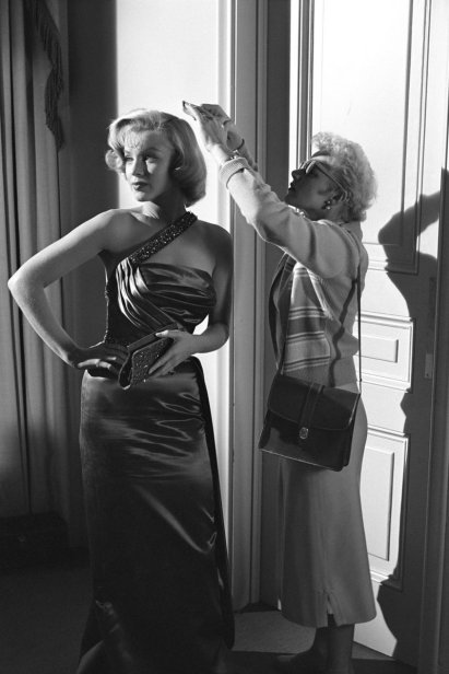 Marilyn nas gravações do filme 'How to Marry a Millionaire' em 1953
