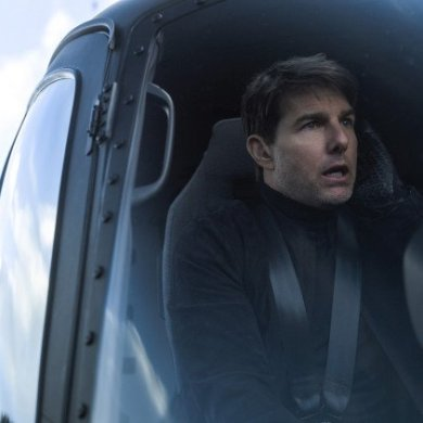 "Tom Cruise em ""Mission: Impossible – Fallout"""