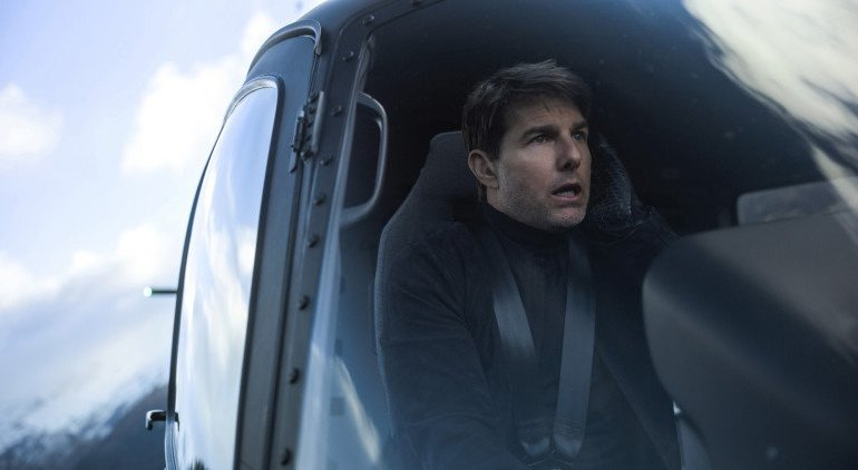 """Tom Cruise em """"Mission: Impossible – Fallout"""""""