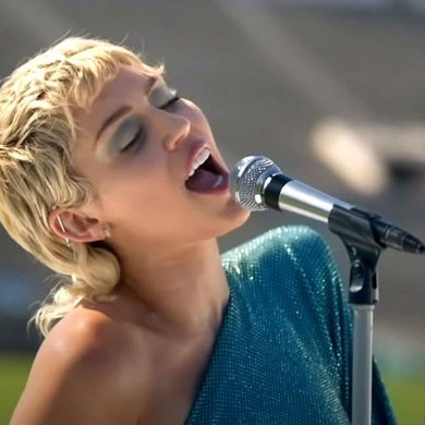 Miley Cyrus canta Beatles no evento humanitário Global Citizen Global Goal: Unite for Our Future