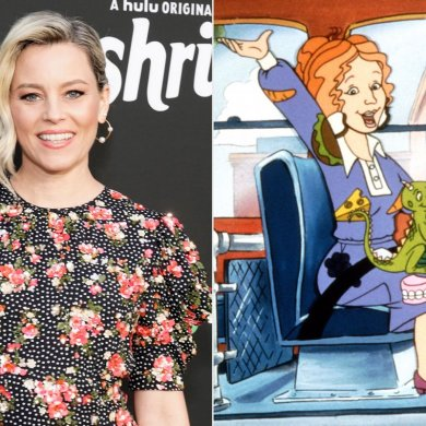 A Carrinha Mágica Elizabeth Banks