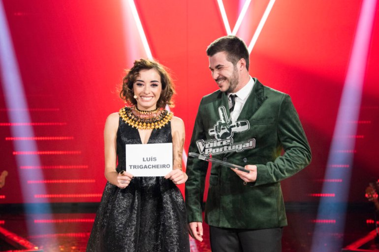 Marisa Liz e Luís Trigacheiro o vencedor do The Voice Portugal
