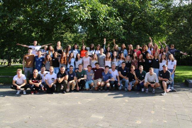 Class 2020 ESP Amsterdam intro week 2017