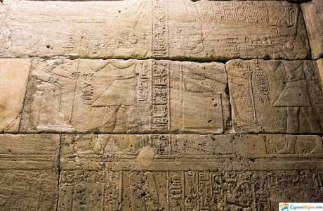 jeroglifico en templo de debod