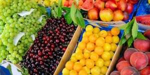variedad fruta mercado san ildefonso
