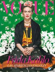Frida Kahlo na Vogue