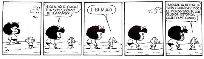 mafalda e libertad - espanhol sem fronteiras