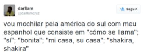 Neymar falando espanhol
