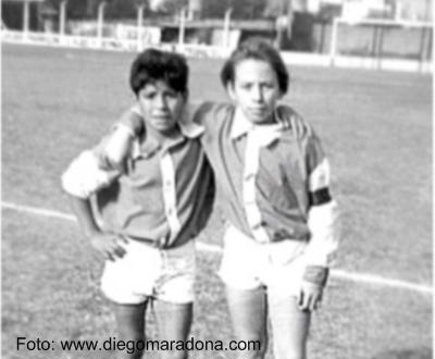 Maradona e Carrizo